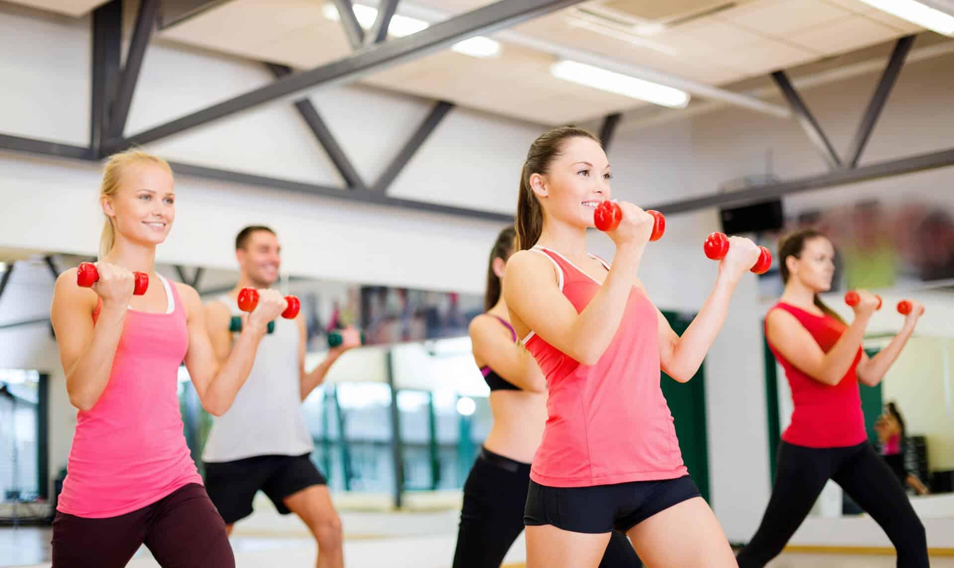 Групповые занятия для похудения тюмень