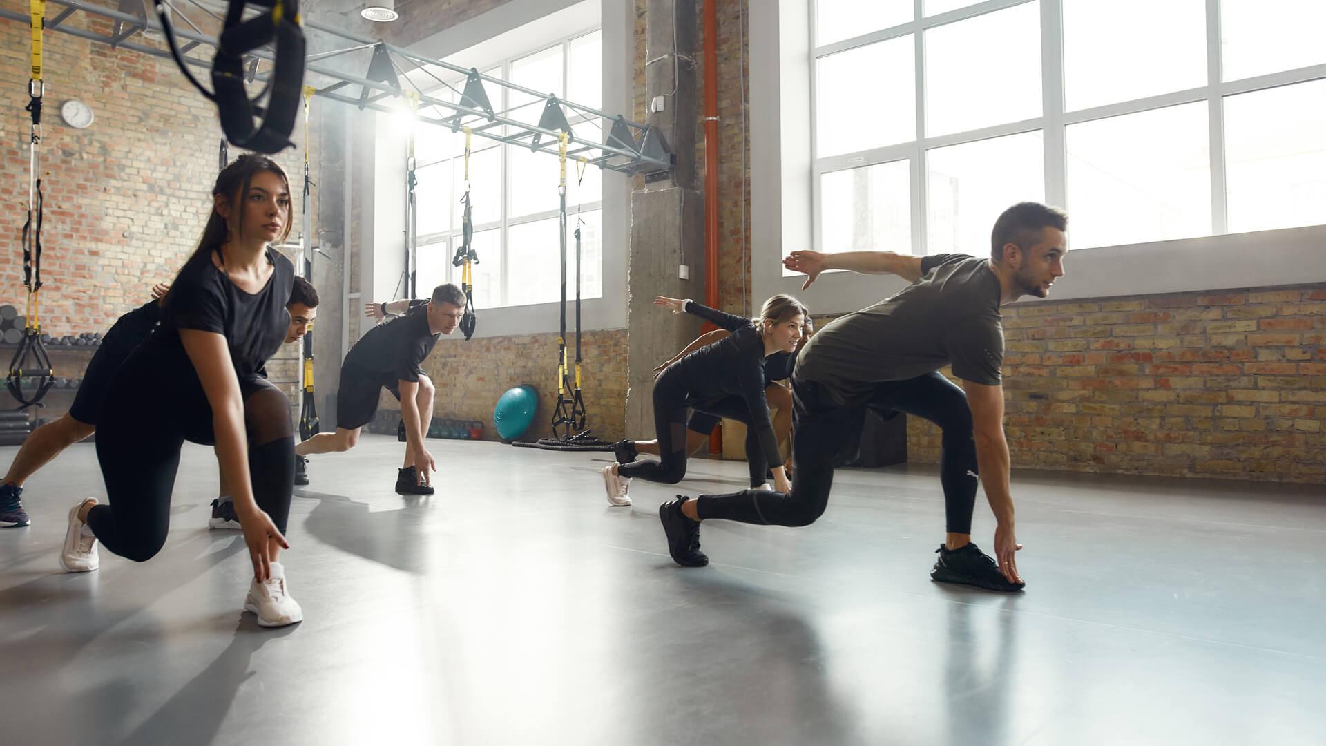 effective training on fitness equipment